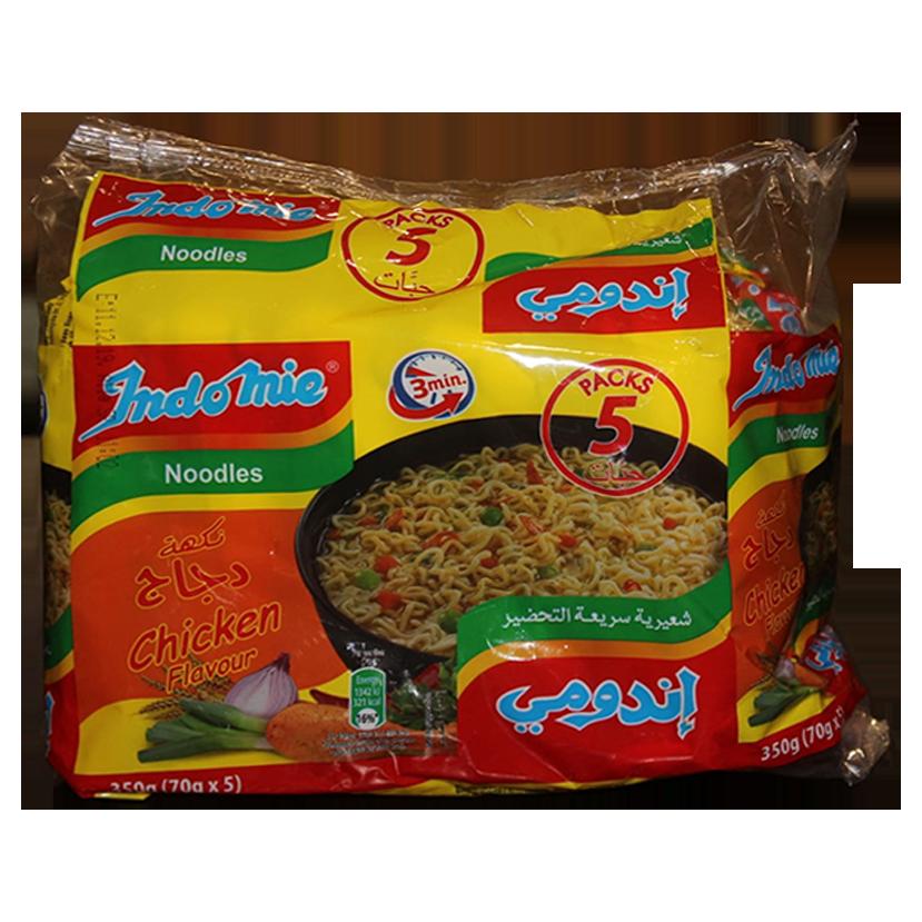 Indomie Au Poulet 5 Boites أندومي بالدجاج 5 علب Souk Alcharq سوق الشرق