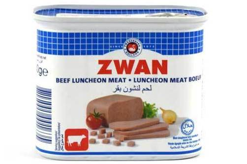 Luncheon Meat Poeuf Zwan 340g لانشون لحم بقر
