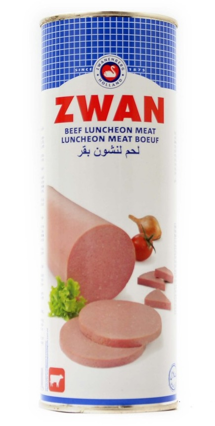 Luncheon Meat Poeuf Zwan 850g - لانشون لحم بقر زوان